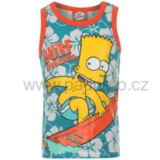 Tričko, tílko The Simpsons (Bart Simpson)