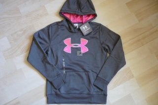 Mikina neon Under Armour Gold Gear Storm